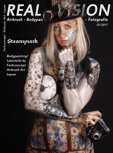 Steampunk/Bodypainting